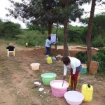 The Water Project: Kiteta Community A -  Soapmaking