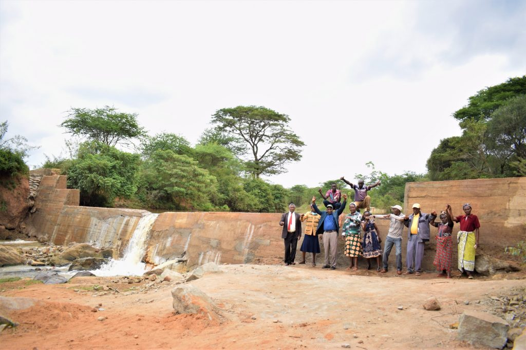 The Water Project : kenya20304-dam-complete