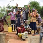The Water Project: Kiteta Community A -  Shg Members At The Well