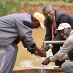 The Water Project: Kiteta Community A -  Well