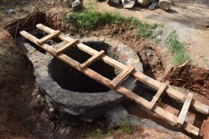 The Water Project:  Well Walls Complete