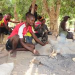 The Water Project: Rosint Community, #24 Poultry St -  Blacksmith Making Cutlass
