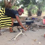 The Water Project: Rosint Community, #24 Poultry St -  Woman Cooking