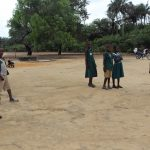 The Water Project: Lokomasama, Matong, DEC Primary School -  Students Outside Classroom
