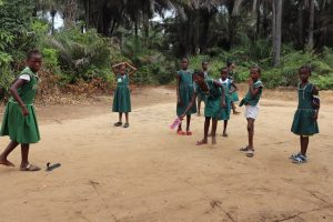 The Water Project:  Students Playing Local Game Call Ar Die