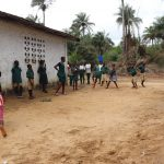 The Water Project: Lokomasama, Matong, DEC Primary School -  Students Playing Local Game Called Balance Ball