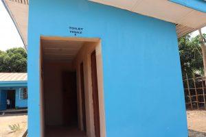 The Water Project:  School Latrine Famale Block