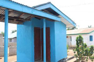 The Water Project:  Staff Quarter Latrine