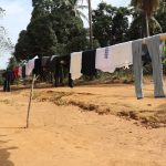 The Water Project: Lokomasama, Kalahire Junction -  Clothesline