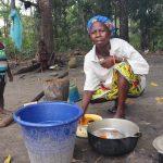 The Water Project: Lokomasama, Bofi Village -  Processing Palm Oil