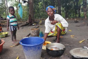 The Water Project:  Processing Palm Oil