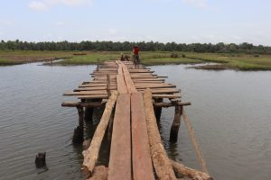 The Water Project:  Bridge Leading To The Next Village