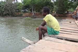 The Water Project:  Small Boy Fishing