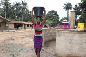 The Water Project:  Small Girl Carrying Water