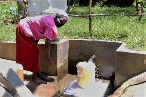The Water Project:  Fetching Water From Shivina Spring