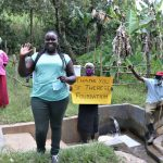 The Water Project: Litinye Community, Shivina Spring -  Thank You From Team Leader Catherine And Community