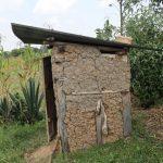 The Water Project: Mukhuyu Community, Gideon Kakai Chelagat Spring -  Pit Latrine