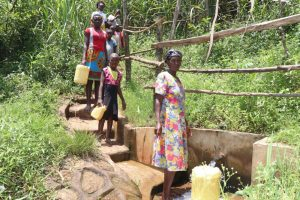 The Water Project:  Anne Fetching Water