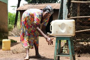 The Water Project:  Anne Handwashing At Home