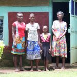 The Water Project: Sharambatsa Community, Mihako Spring -  Anne With Her Family At Home