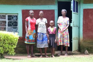 The Water Project:  Anne With Her Family At Home