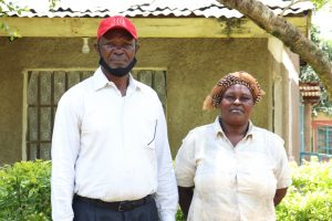 The Water Project:  Isaac And His Wife