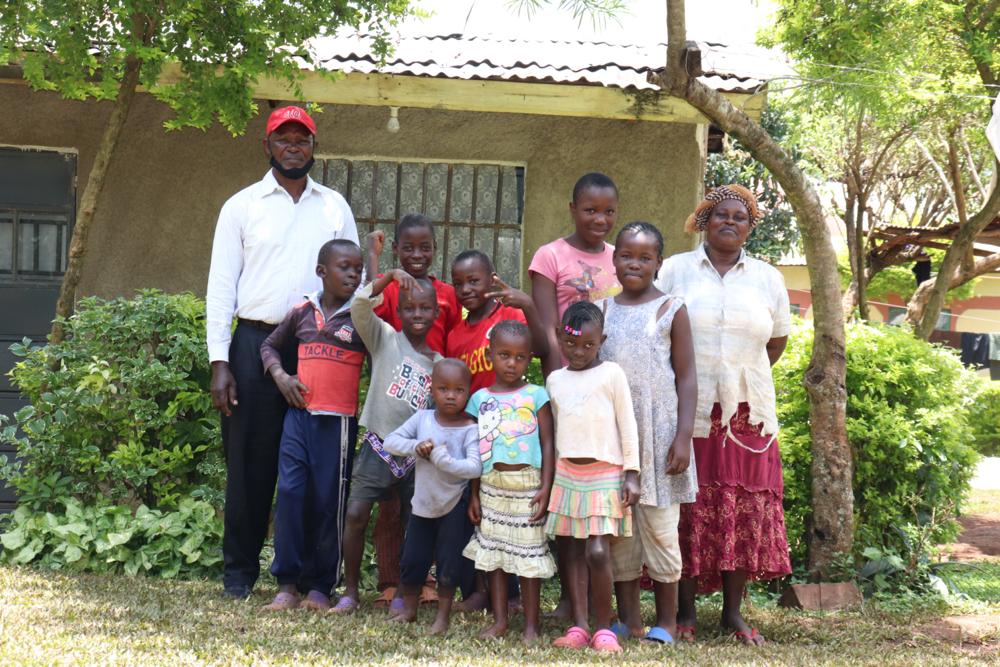The Water Project : covid19-kenya18168-the-shatsala-family