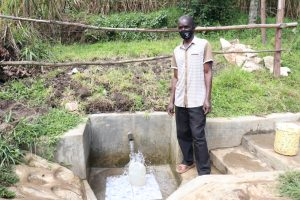 The Water Project:  Andrew At The Spring