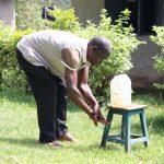 The Water Project: Bukhaywa Community, Shidero Spring -  Hnadwashing