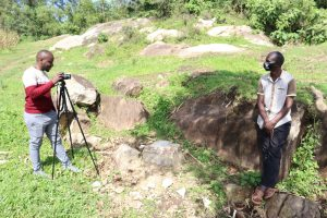 The Water Project:  Sir Allan Conducting The Interview