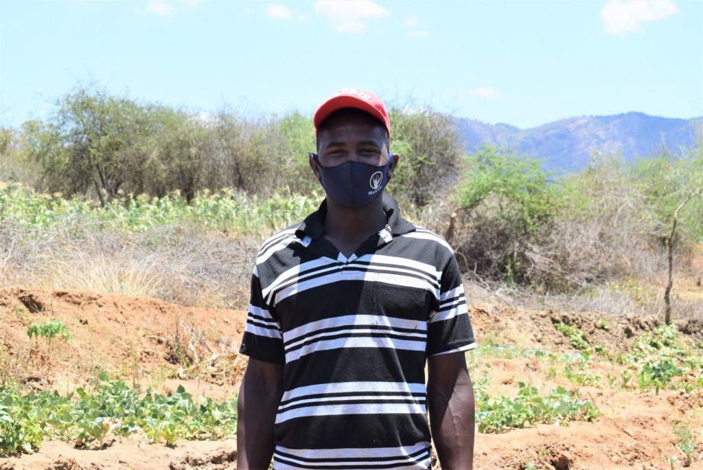 The Water Project : covid19-kenya19233-matthew-mulandi-1