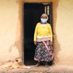 The Water Project: Handidi Community, Malezi Spring -  Gracy In Front Of Her House