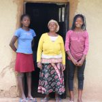 The Water Project: Handidi Community, Malezi Spring -  With Her Grandchildren