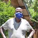 The Water Project: Shitoto Community, Laurence Spring -  Laurence With His Mask On