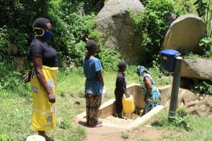 The Water Project:  Fetching Water At Laurence Spring