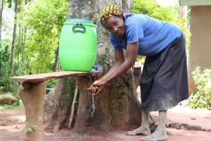 The Water Project:  Making Use Of The Handwashing Station