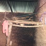 The Water Project: Isanjiro Community, Musambai Spring -  Firewood Rack Inside Kitchen