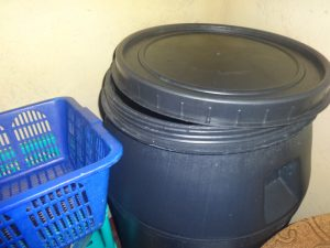 The Water Project:  Plastic Water Storage Tank