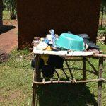 The Water Project: Shianda Commnity, Mukeya Spring -  Dishrack