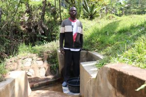 The Water Project:  At Chibusia Spring