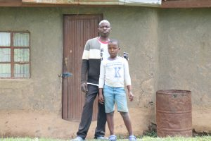 The Water Project:  Benson With Son Joshua