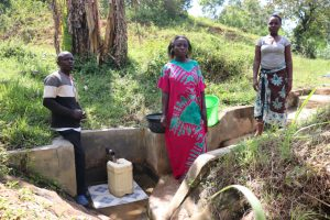 The Water Project:  With Community Members At The Spring