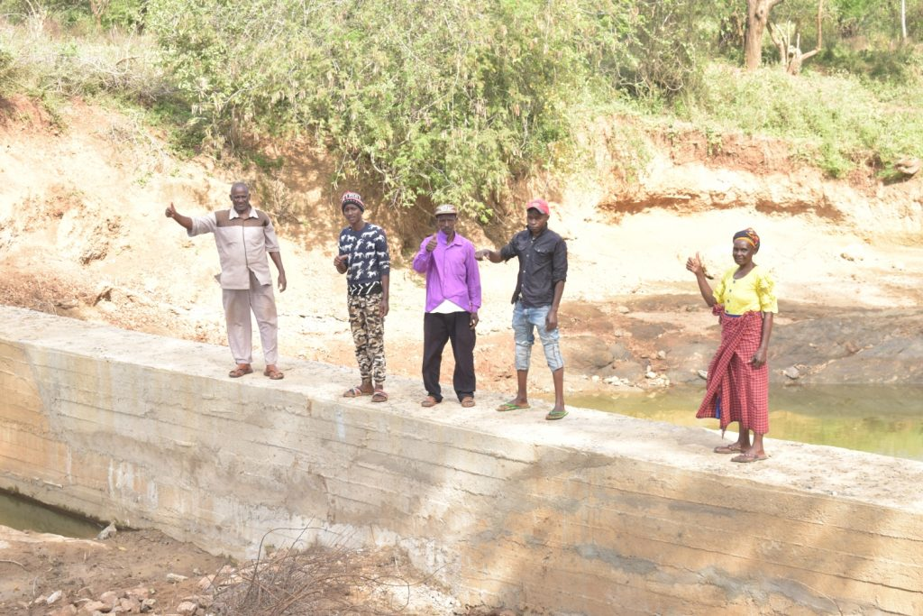 The Water Project : kenya20306-complete-dam