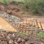 The Water Project: Mbitini Community -  Dam Nears Completion