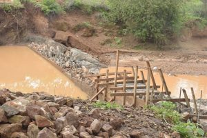 The Water Project:  Dam Nears Completion