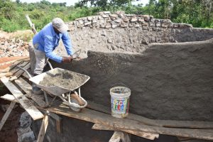 The Water Project:  Building Tank Walls