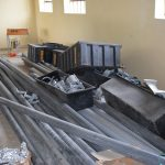 The Water Project: Kimuuni Secondary School -  Guttering Materials