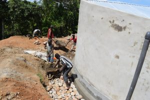 The Water Project:  Tank Drainage