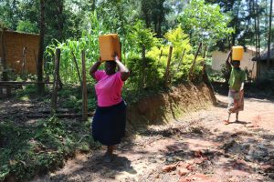 The Water Project:  Dora And Ruth Arriving Home