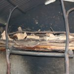 The Water Project: Elwichi Community, Mulunda Spring -  Firewood In The Kitchen